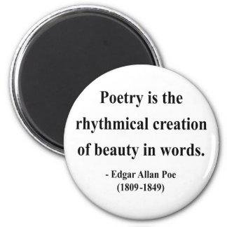 Cita 5a de Edgar Allen Poe Imanes De Nevera