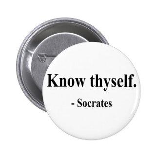 Cita 5a de Sócrates Pin