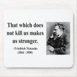Cita 5b de Nietzsche Alfombrilla De Ratón