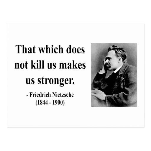 Cita 5b de Nietzsche Tarjetas Postales