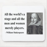 Cita 5b de Shakespeare Alfombrillas De Raton