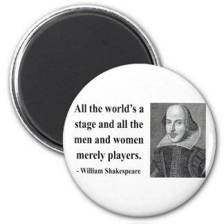 Cita 5b de Shakespeare Imán Redondo 5 Cm