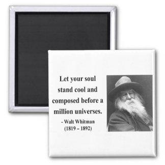 Cita 5b de Whitman Imán Cuadrado