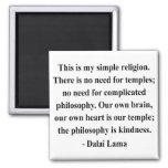 cita 6a de Dalai Lama Imán De Frigorifico
