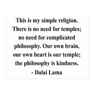 cita 6a de Dalai Lama Postales