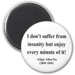 Cita 6a de Edgar Allen Poe Imán Para Frigorífico