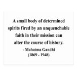 Cita 6a de Gandhi Postal
