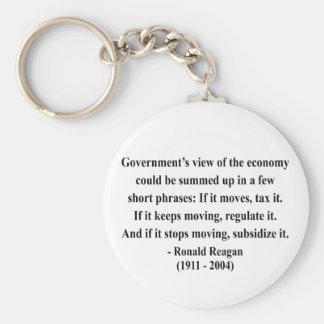 Cita 6a de Reagan Llavero Redondo Tipo Pin