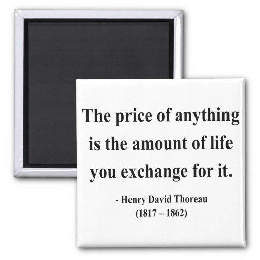 Cita 6a de Thoreau Imanes De Nevera