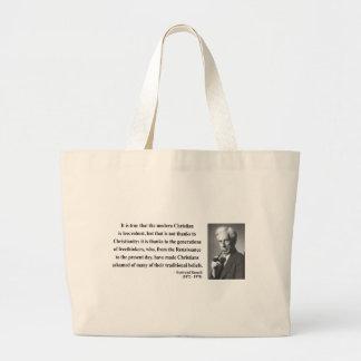 Cita 6b de Bertrand Russell Bolsa De Tela Grande