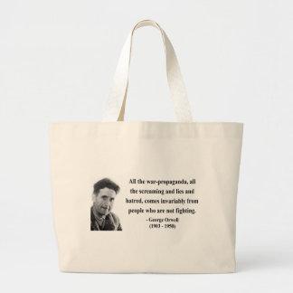 Cita 6b de George Orwell Bolsa Tela Grande