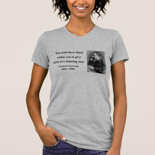 Cita 6b de Nietzsche Camisetas