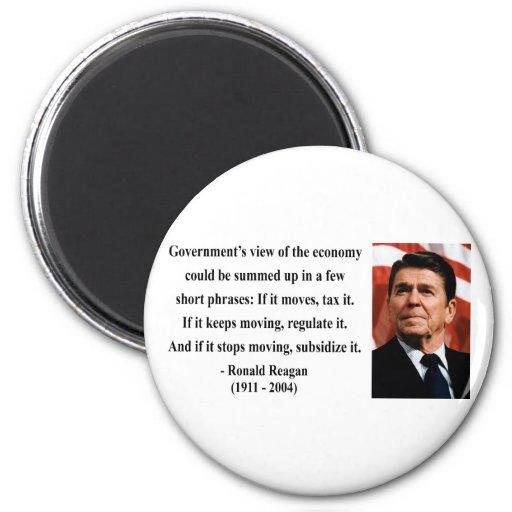 Cita 6b de Reagan Imán De Frigorifico