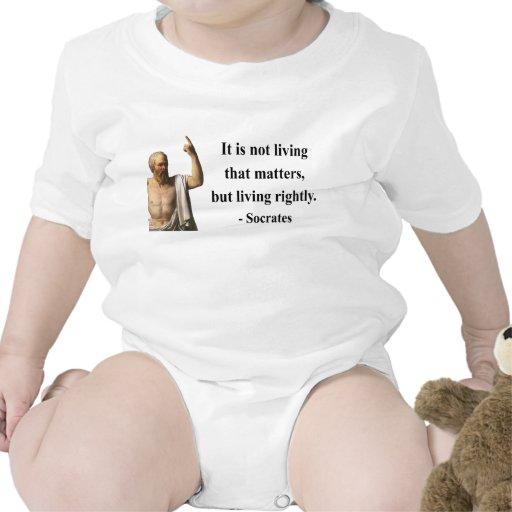 Cita 6b de Sócrates Camisetas