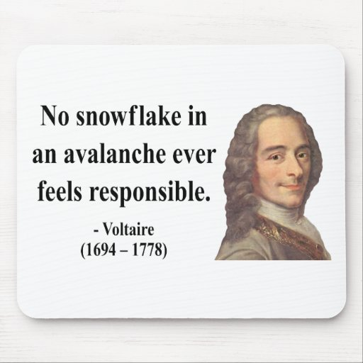 Cita 6b de Voltaire Tapetes De Ratón