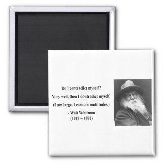 Cita 6b de Whitman Imán Cuadrado