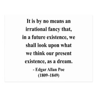 Cita 7a de Edgar Allen Poe Postales