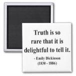 Cita 7a de Emily Dickinson Imanes De Nevera