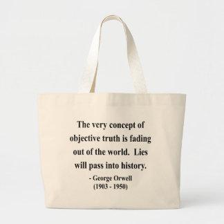 Cita 7a de George Orwell Bolsa Tela Grande