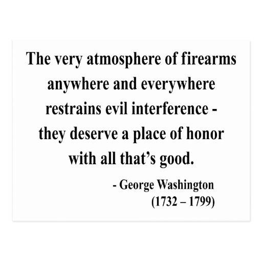 Cita 7a de George Washington Tarjetas Postales