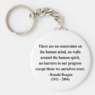Cita 7a de Reagan Llavero Redondo Tipo Pin