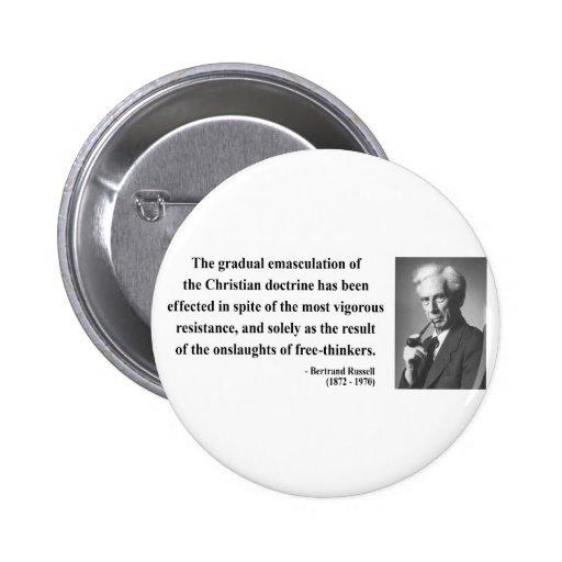 Cita 7b de Bertrand Russell Pin
