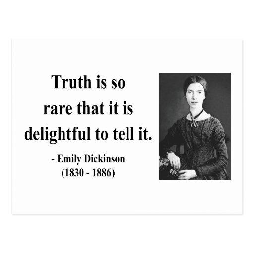 Cita 7b de Emily Dickinson Postal