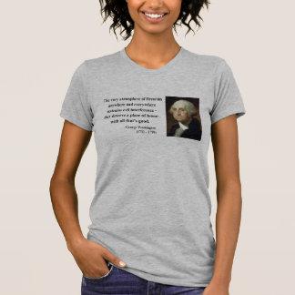 Cita 7b de George Washington Camisetas