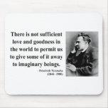 Cita 7b de Nietzsche Alfombrillas De Raton