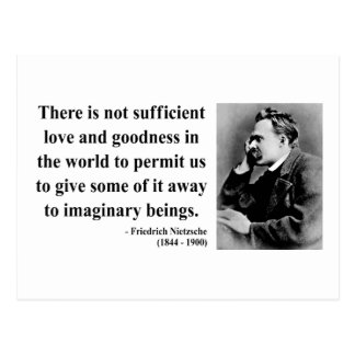 Cita 7b de Nietzsche Tarjeta Postal