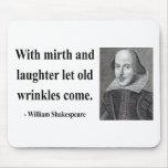 Cita 7b de Shakespeare Alfombrillas De Raton
