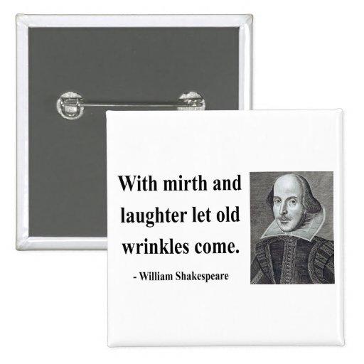 Cita 7b de Shakespeare Pins