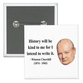 Cita 7b de Winston Churchill Pin