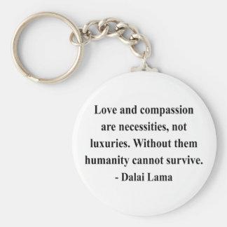 cita 8a de Dalai Lama Llavero Personalizado