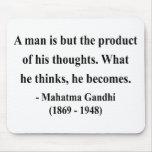 Cita 8a de Gandhi Tapete De Ratón