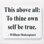Cita 8a de Shakespeare Tapetes De Ratones