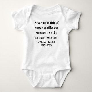 Cita 8a de Winston Churchill Body Para Bebé