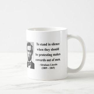 Cita 8b de Abraham Lincoln Tazas De Café