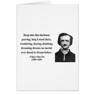 Cita 8b de Edgar Allen Poe Felicitaciones