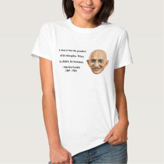 Cita 8b de Gandhi Camisas
