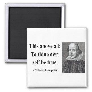 Cita 8b de Shakespeare Imán Cuadrado