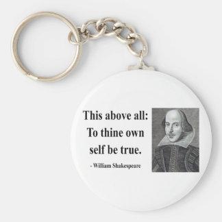 Cita 8b de Shakespeare Llavero