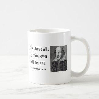 Cita 8b de Shakespeare Taza Clásica