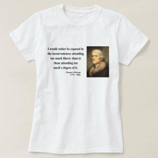 Cita 8c de Thomas Jefferson Playeras