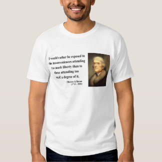 Cita 8c de Thomas Jefferson Remera