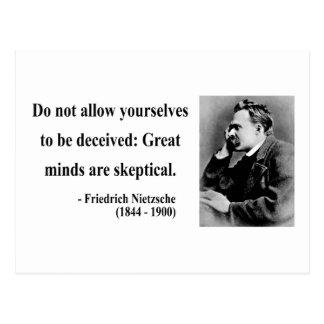Cita 9b de Nietzsche Tarjetas Postales
