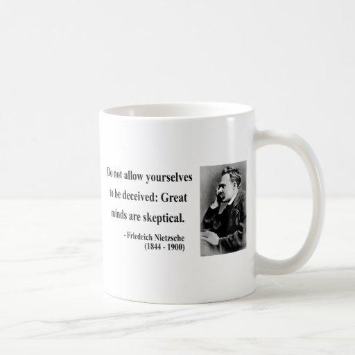 Cita 9b de Nietzsche Tazas De Café