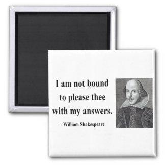 Cita 9b de Shakespeare Imán Cuadrado