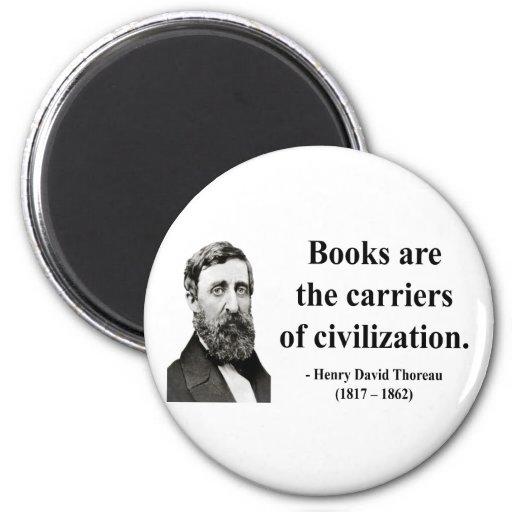 Cita 9b de Thoreau Imán Redondo 5 Cm