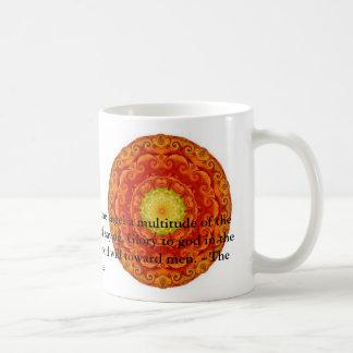 Cita bíblica inspiradora hermosa del ángel tazas de café